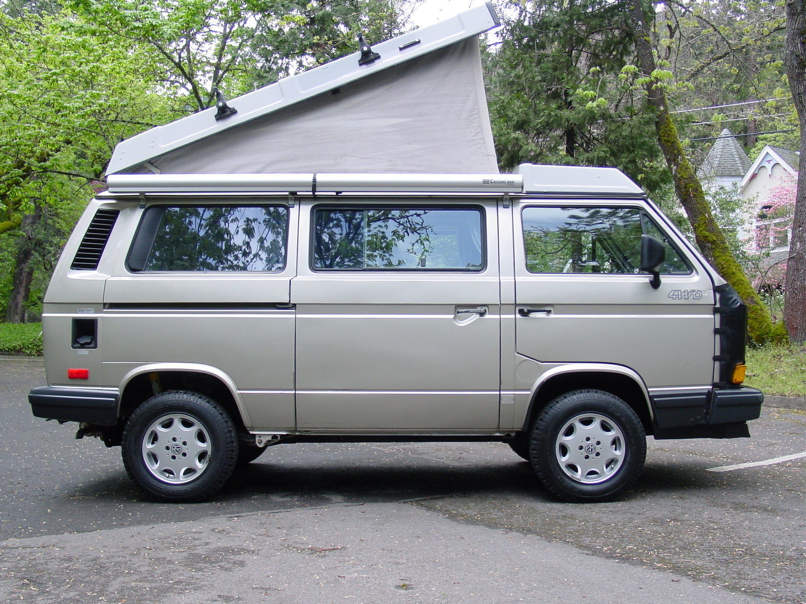1991 VW Vanagon Syncro Westfalia Camper Auction In Ashland, OR - Ends April 27th