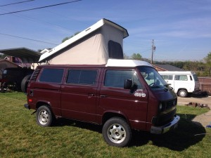 1991 VW Vanagon Westfalia Syncro Weekender Auction In Ohio - Ends April 29th
