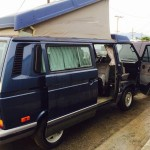 1991 VW Vanagon Westfalia Weekender Multivan w/ 138 miles and automatic transmission, $12,500 in Los Angeles