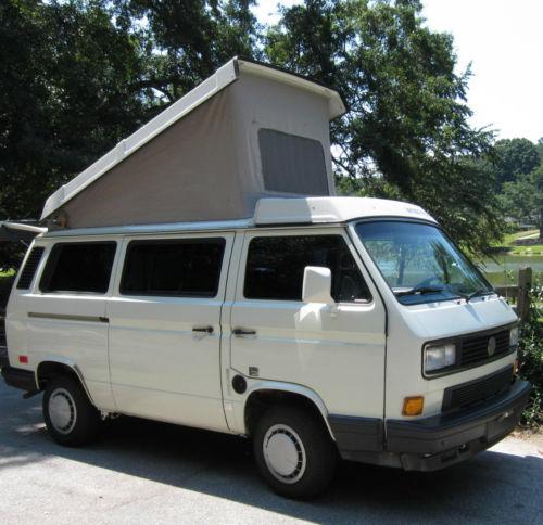 White 1991 VW Vanagon Westfalia Camper - $26,950 In Decatur, Georgia