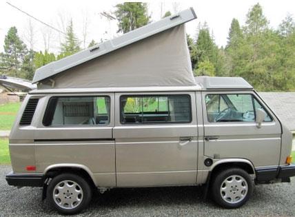 Silver 1990 VW Vanagon Westfalia Camper - $19,400 in Salem, OR