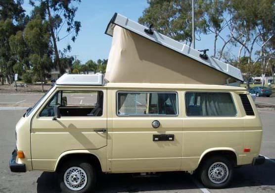 1982 VW Vanagon Westfalia Camper Diesel - $10,800 in San Diego, CA