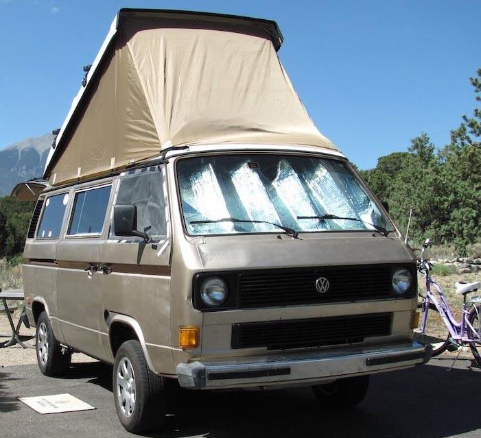 1984 VW Vanagon Westfalia Camper w/ 2.2L Subaru & Auto Trans - $