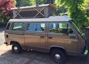 1986 VW Vanagon Synrco Riviera Pop Top - $13,900 in Portland, OR