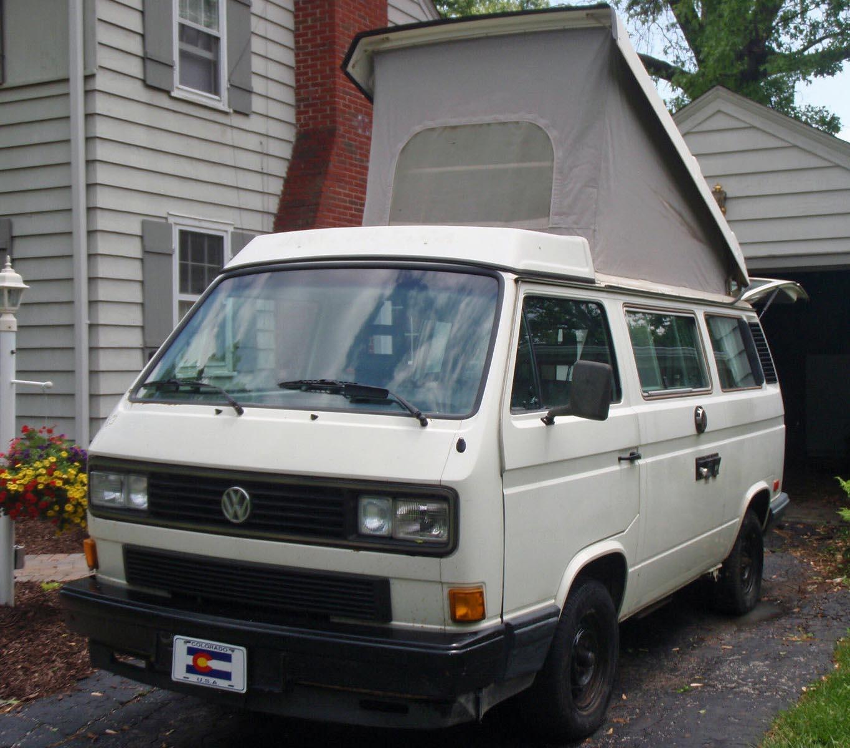 1988 VW Vanagon Westfalia Camper - White - Manual - Rebuilt Engi