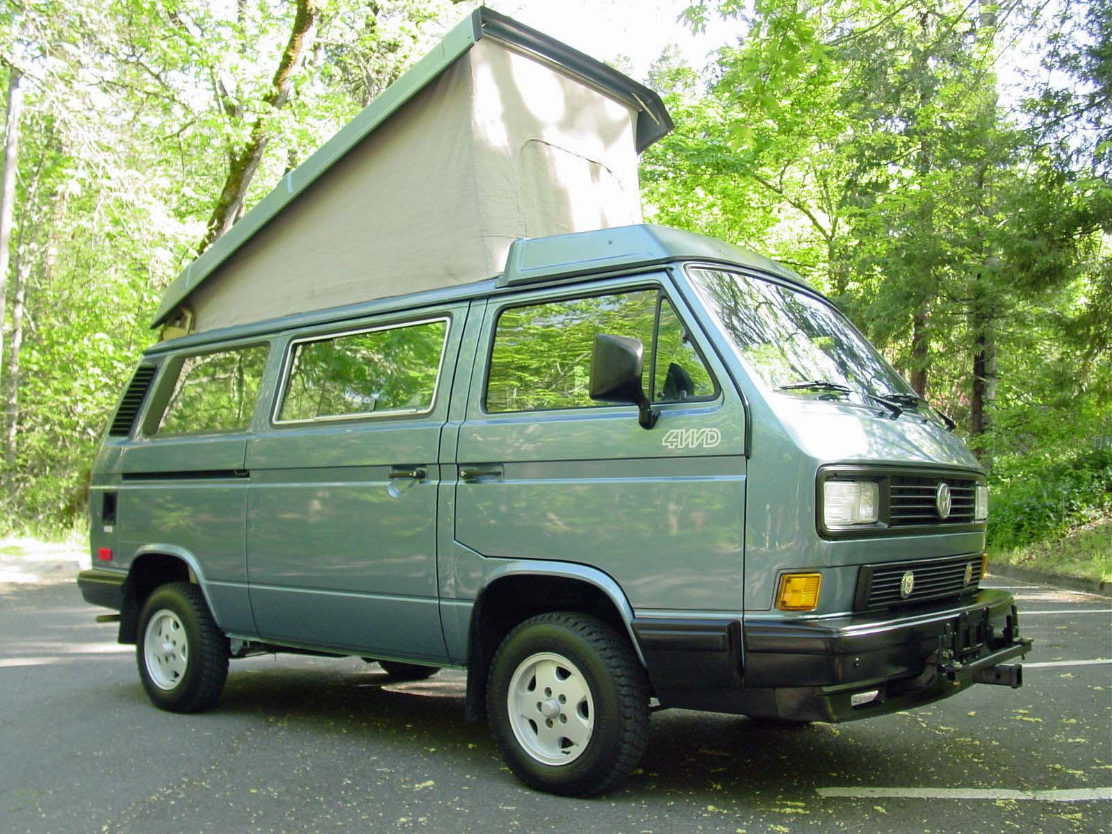 1989 Vw Vanagon Syncro 4x4 Westfalia Auction 236k Miles Ashland Or