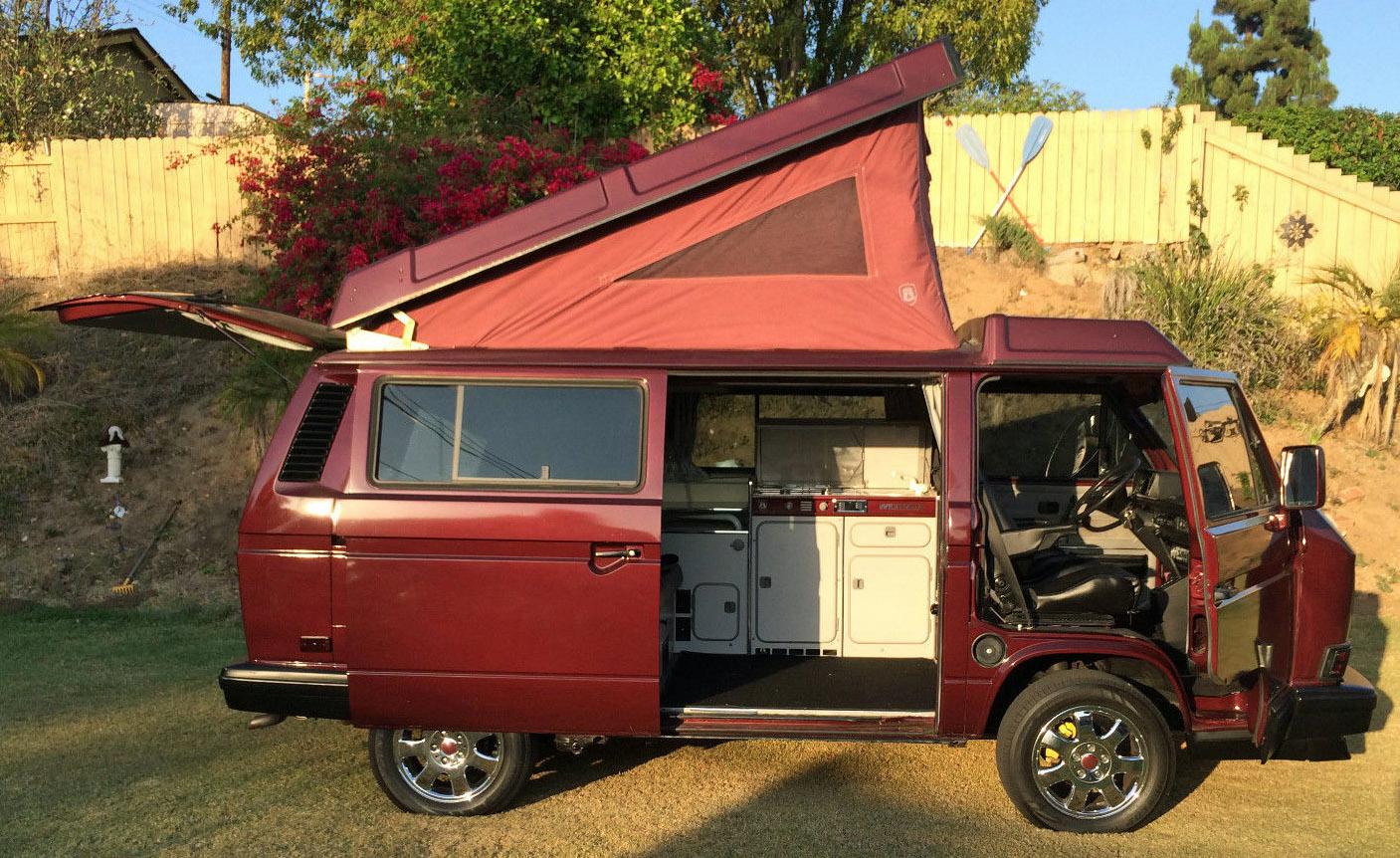 1990 VW Vanagon Westfalia Camper - Best In Show Winner - Auction