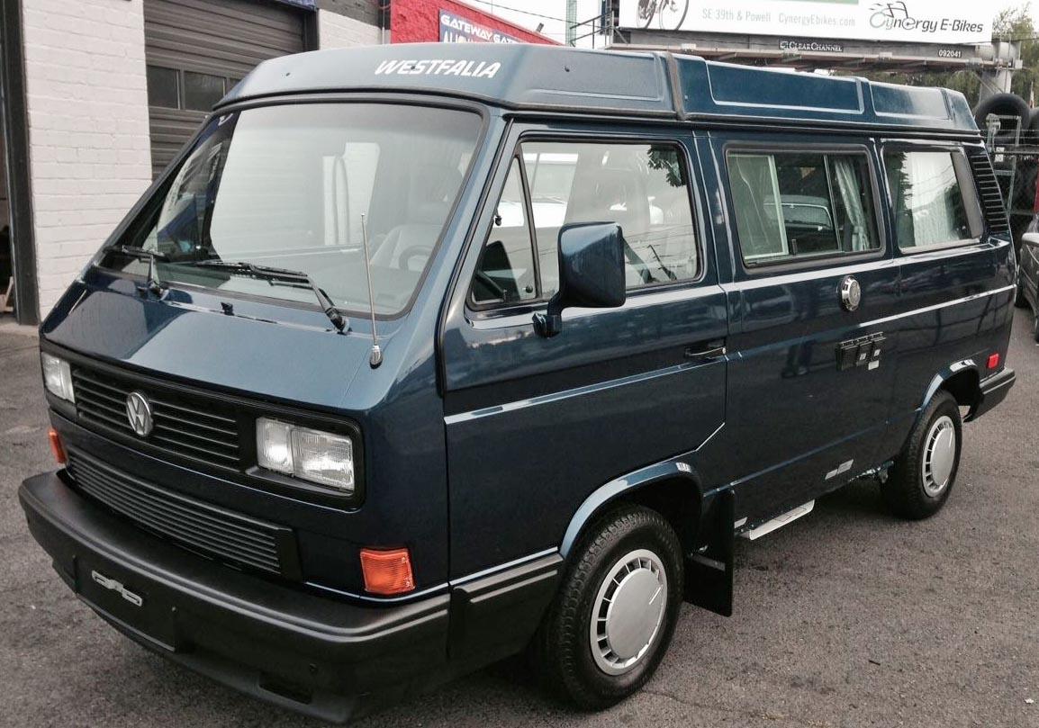 1990 Vw Vanagon Westfalia Camper