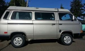 1991 VW Vanagon Westfalia Camper Auction In Coos Bay, OR