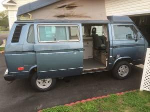 Blue 1987 VW Vanagon Westfalia Camper - Only $9k in Delaware