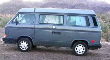 Blue 1989 VW Vanagon Westfalia Camper w/ 65k Miles - $19,500 in Taos, NM