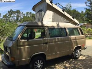 1986 VW Vanagon Westfalia Weekender - $15k in Cambria, CA