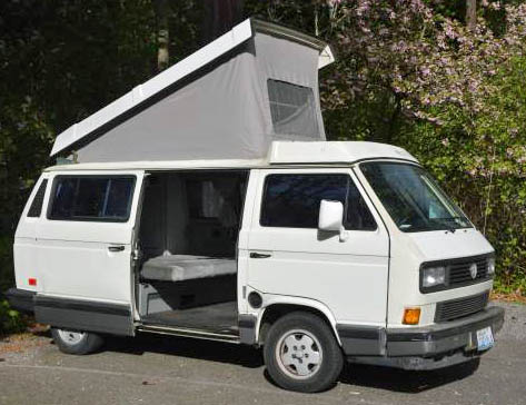 1991 VW Vanagon Westfalia Weekender w/ 185k Miles & Auto Trans - $6k in Seattle, WA