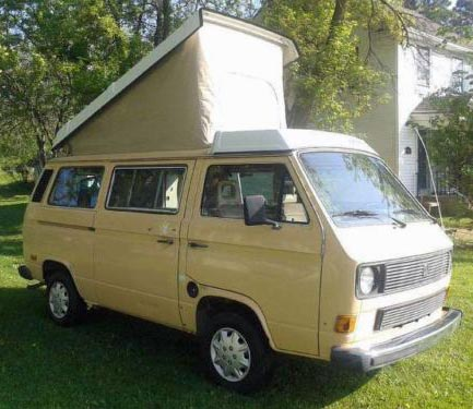 1985 VW Vanagon Westfalia Camper w/ 2.3L Engine & Manual Transmission - 103k Miles - Auction In Madison, WI Ends May 26th, 2014