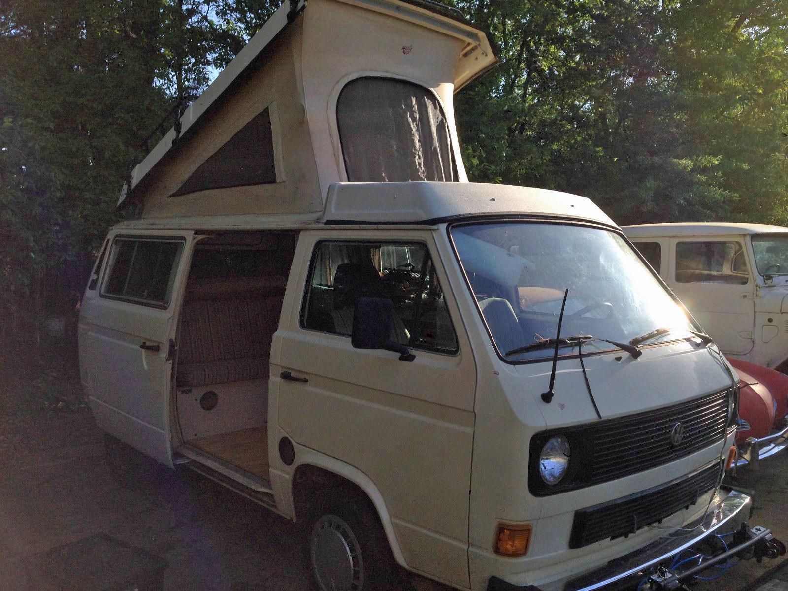 1982 Vw Vanagon Westfalia Diesel Non Op 4 000 In
