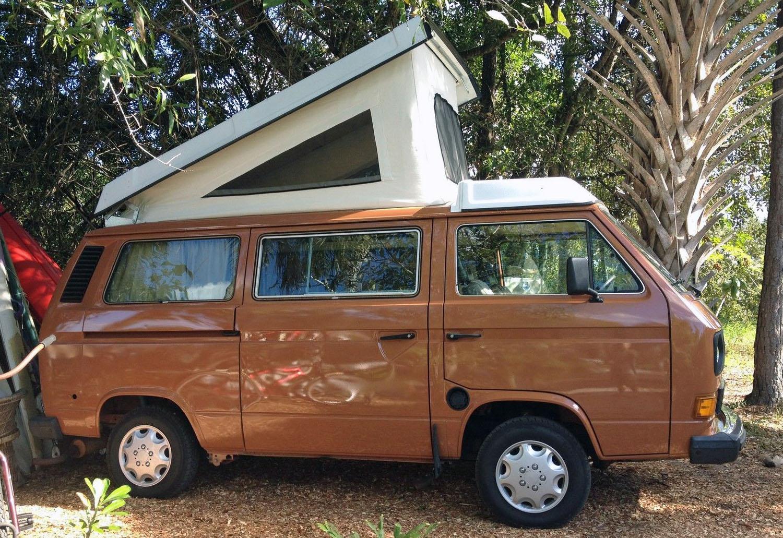1984 VW Vanagon Westfalia Camper - Auction In Stuart, Florida