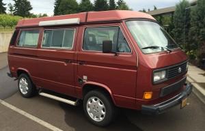 1987 VW Vanagon Westfalia Auction In Sherwood, Oregon