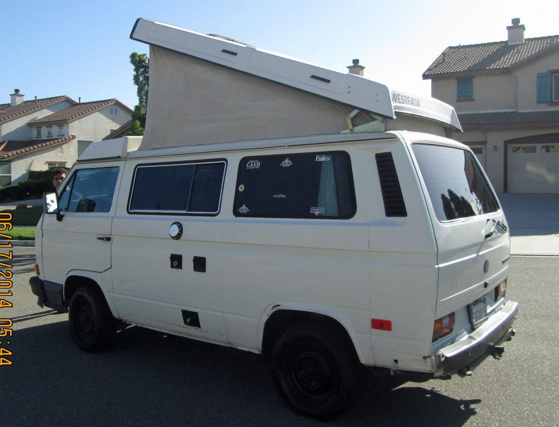 1989 VW Vanagon Westfalia Camper - Auction Ends June 24th @5pm P