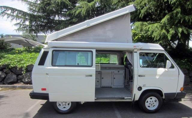 1990 VW Vanagon Westfalia Camper - Auction in Seattle, WA