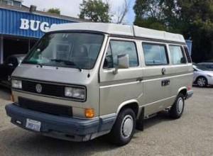 1990 VW Vanagon Westfalia Camper - $12,000 in Berkeley, CA