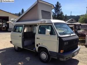 1991 VW Vanagon Westfalia Camper w/ TIICO Engine - $18,500 in Quincy, CA