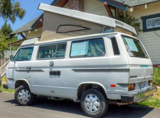 1985 VW Vanagon Westfalia Camper - $9,000 in Arroyo Grande, CA