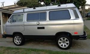 1984 VW Vanagon Westfalia Camper w/ 3.0L Nissan V6 - $18,000 in San Diego, CA