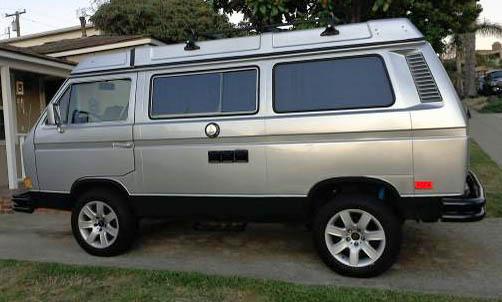 1984 VW Vanagon Westfalia Camper w/ 3.0L Nissan V6 - $20,000 in