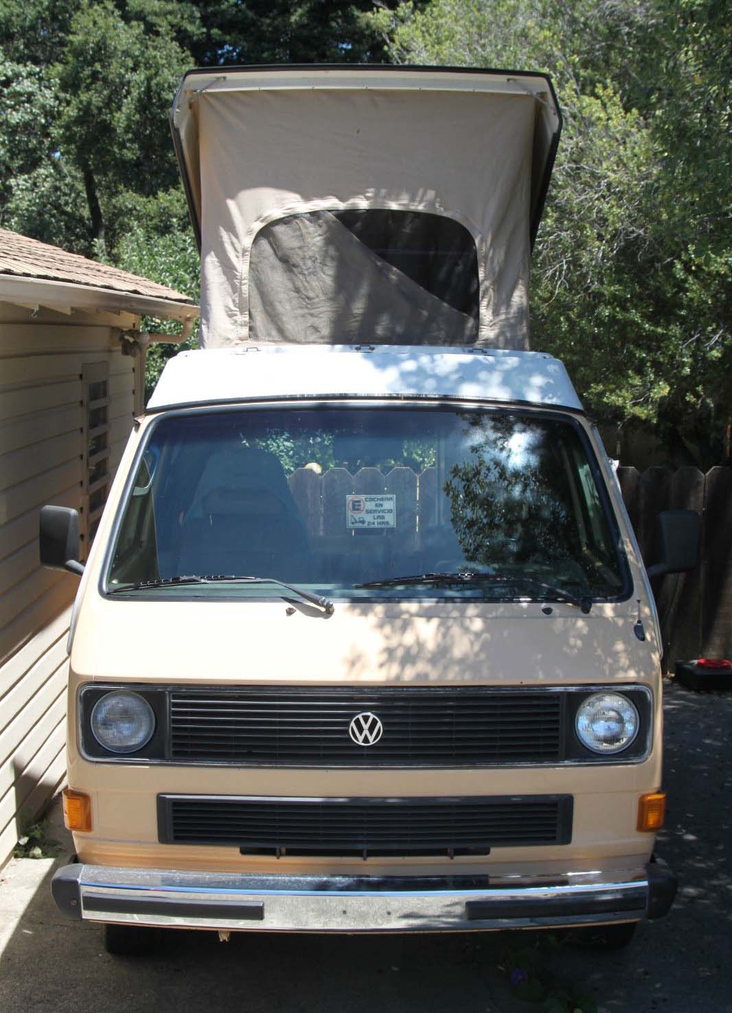 1985 VW Vanagon Westfalia Camper w/160k Miles - Auction In Sebas