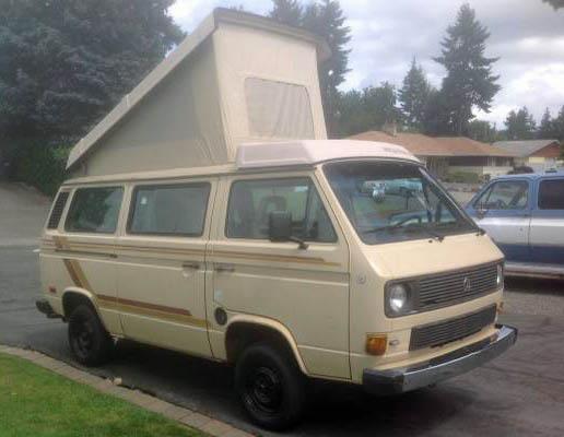 1985 VW Vanagon Westfalia Weekender Wolfsburg - $7k in Seattle,