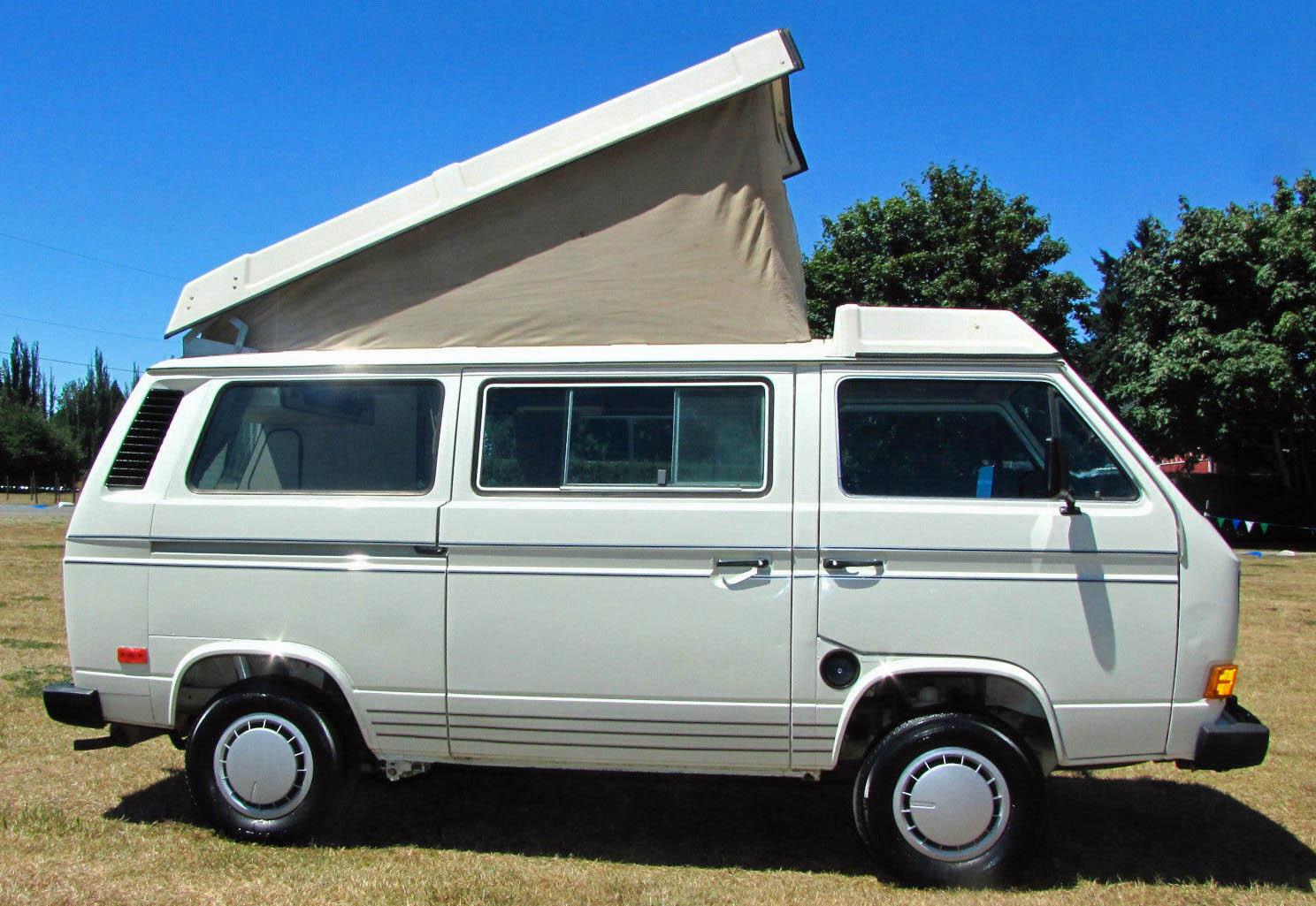 1985 VW Vanagon Westfalia Camper Auction in Lakewood, WA