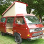 1986 VW Vanagon Synrco Westfalia Weekender Auction In Rhode Isla