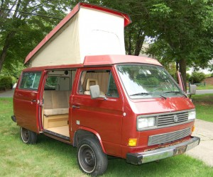 1986 VW Vanagon Synrco Westfalia Weekender Auction In Rhode Isla