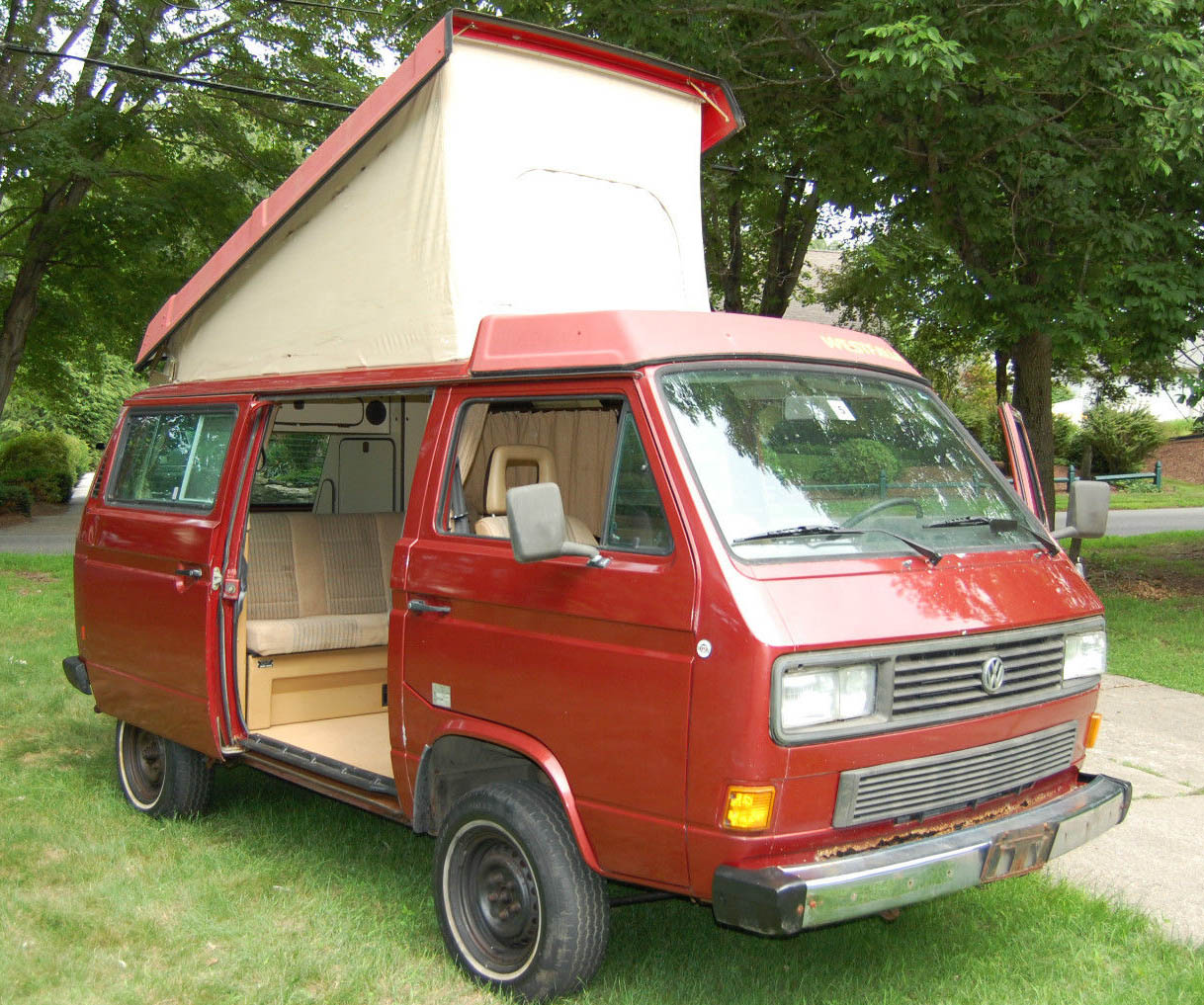 Campers For Sale In Louisiana >> 1986 VW Vanagon Synrco Westfalia Weekender Auction In Rhode Island