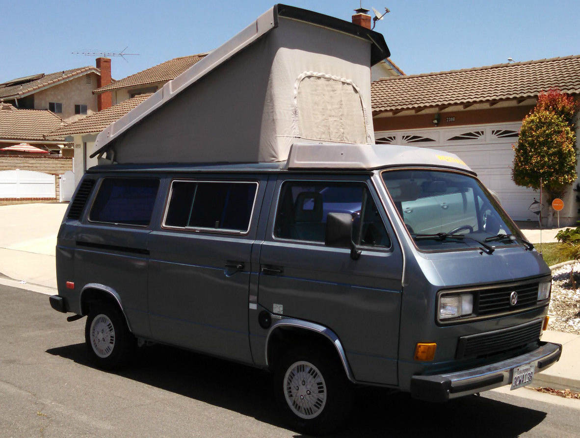 1987 VW Vanagon Westfalia Camper - Auction In Ventura, CA