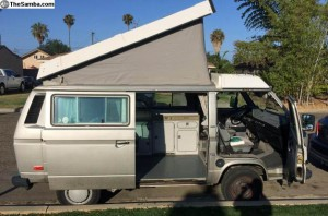 1987 VW Vanagon Westfalia Camper - $9,000 in Oceanside, CA