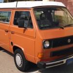 1983.5 VW Vanagon Westfalia Camper Auction In Ventura, CA