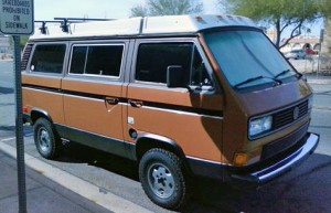 1984 VW Vanagon Westfalia Camper Auction In Lake Havasu, Arizona