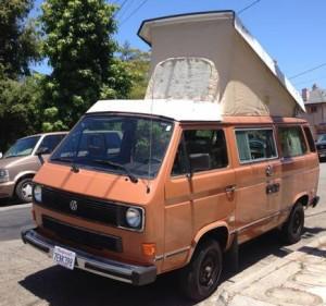 1984 VW Vanagon Westfalia Camper - $11,500 in SF