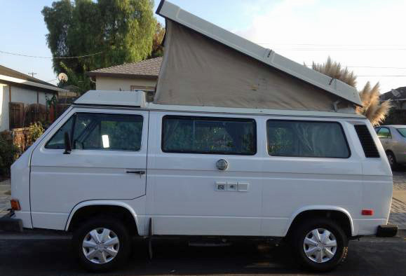 1985 VW Vanagon Westfalia Camper - $9,875 in San Jose, CA