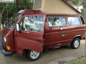 1987 VW Vanagon Westfalia Camper - $8,000 in San Antonio, Texas