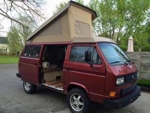 1987 VW Vanagon Synrco Westfalia w/ 100k Miles - $24,500 in Mich