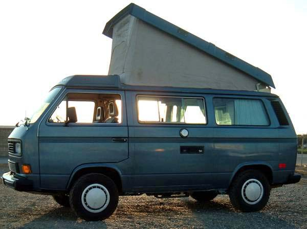 1987 VW Vanagon Westfalia Camper Auction In Davis, CA
