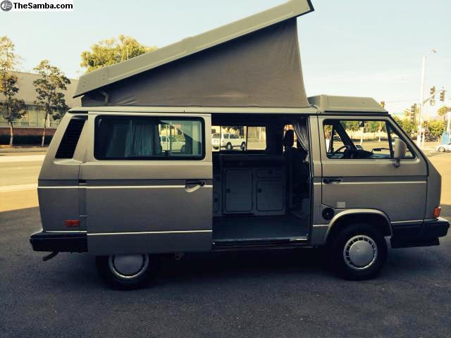 d488e29a37 1990 VW Vanagon Westfalia Camper Automatic w  90k Miles -  20k in San  Diego
