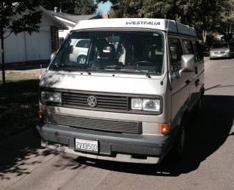 1991 VW Vanagon Westfalia Camper $9,700 in Davis, CA