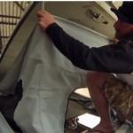 How To Install A New Westfalia Pop Top Tent