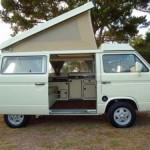 Fully Restored 1982 Westfalia Diesel Camper - Auction In Morro B