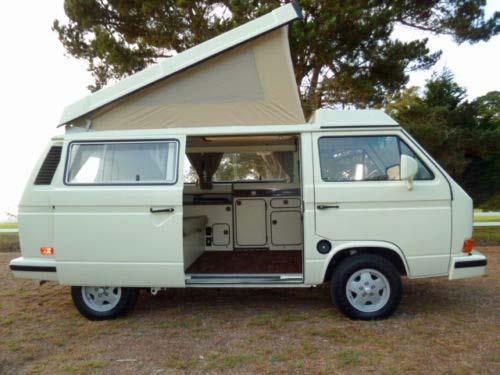 Fully Restored 1982 Westfalia Diesel Camper - Auction In ...