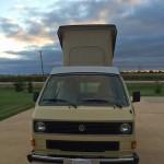 1983 5 vw vanagon westfalia camper yellow davenport iowa 25k 4