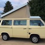 1983 5 vw vanagon westfalia camper yellow davenport iowa 25k 51